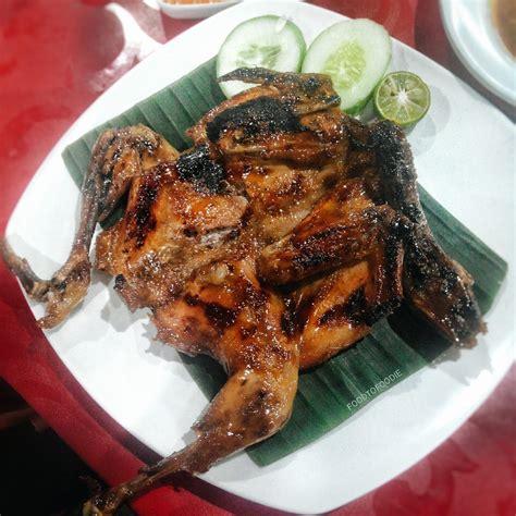 Ayam Panggang Klaten Bu Ning limakaki lezat dan nikmat menu ayam bakar taliwang madu