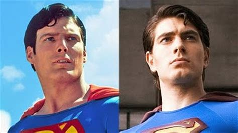 christopher reeve vs brandon routh wb s superman anthology arrives with lots of extras and in