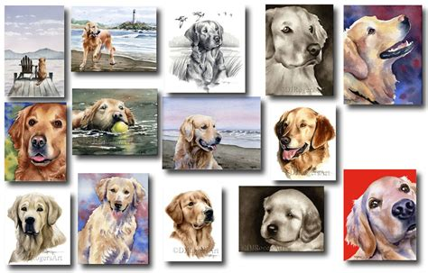 golden retriever poster golden retriever prints posters and paintings