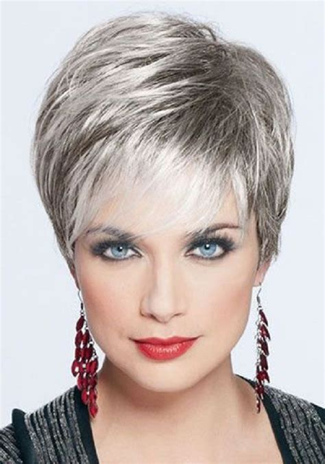 short grey haircuts on pinterest short grey hair older best styles for gray hair cute short hairstyles for gray
