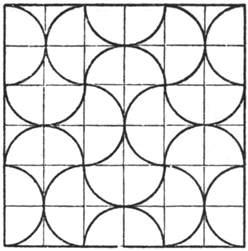 fan shaped tessellation math tessellation