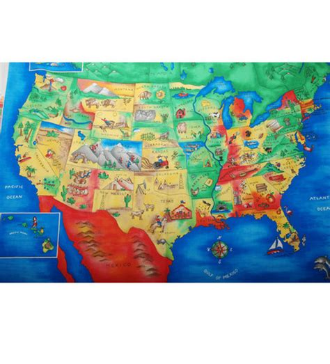 Quilting Fabrics Usa by Jedi Fabric Maps