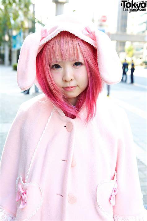 strawberry planet moco in angelic pretty bunny ears 6 dokidoki