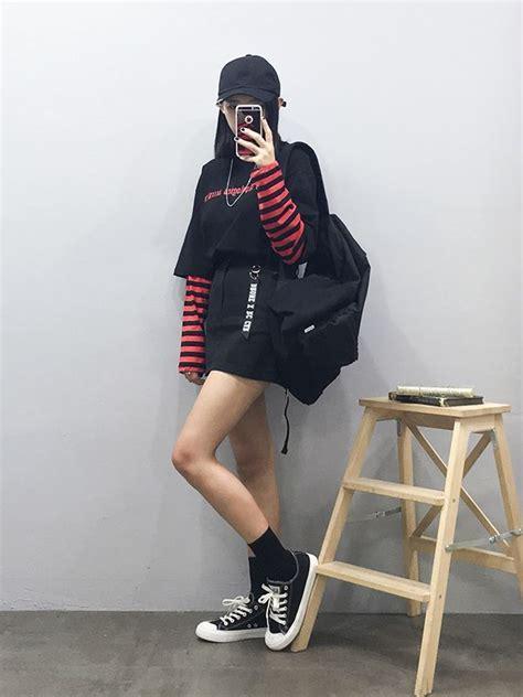 Korean Black Style top 25 best korean fashion ideas on korean