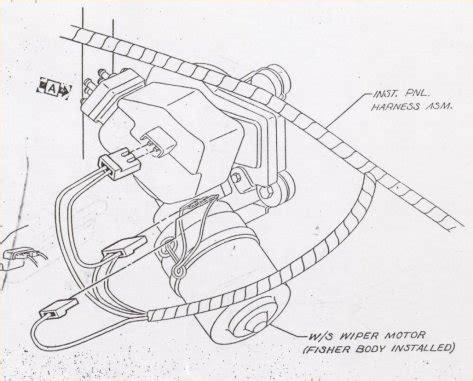 camaro windshield wiper, washer & pump information