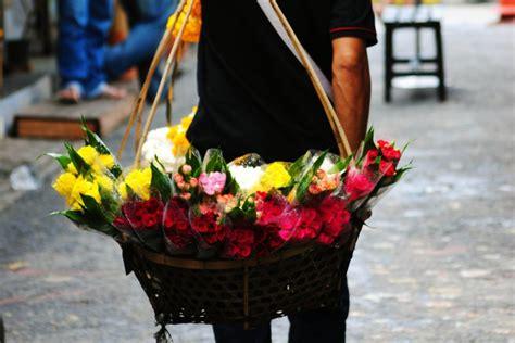 mercato dei fiori mercato dei fiori a bangkok pak khlong talat thailandia