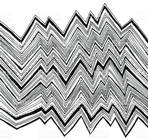zigzag pattern in left eye zig zag pattern vector clipart best