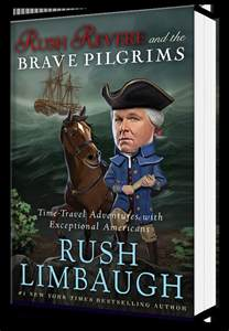 the true story of thanksgiving rush limbaugh kids uncle rushbo is writing a book for you crooks and