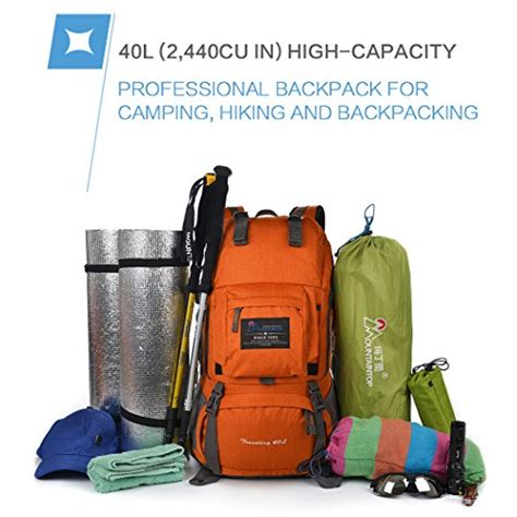 Cover Bag Kerinci 40 Liter mountaintop 40 liter backpack with cover 5812ii luggage bags backpacks