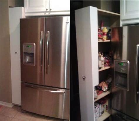 Refrigerated Pantry by 27 Space Saving Tricks And Techniques For Tiny Houses