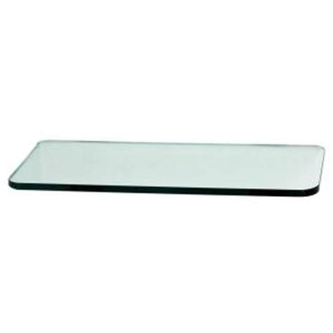 home depot glass shelves floating glass shelves 3 8 in rectangle glass corner shelf price varies by size r818 the