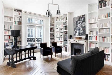 paris home decor subtle black accents work to tie this stylish paris
