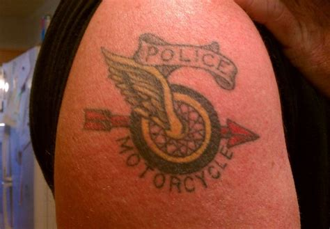 cop tattoos photo 26 blue ink reader tattoos photo gallery