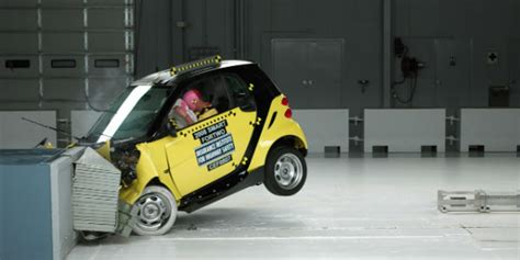 how safe is a smart car is the smart car crash resistant and safe as a small car