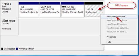 format hardisk baru di windows 7 cara membuat partisi hardisk di windows 7 summonxv