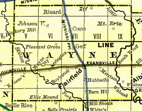 Wayne County Records Database Wayne County Illinois Genealogy Vital Records Certificates For Land Birth