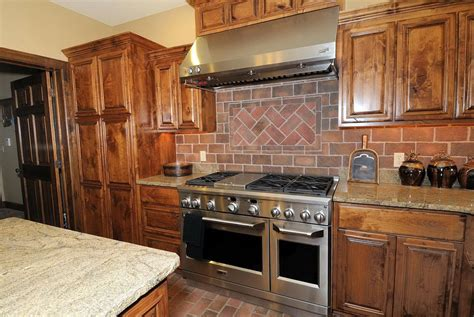 Kitchen Brick Backsplash by Kitchen Brick Backsplash Ideas Pictures Home Design Ideas