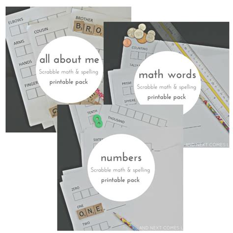 math scrabble scrabble math printables for and next comes l
