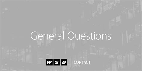 contact us wsd capital management