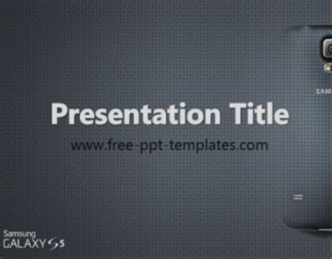 samsung powerpoint template samsung galaxy s5 ppt template free powerpoint templates