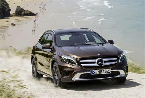 Mercedess Gla Class mercedes gla revealed arriving early 2014 performancedrive