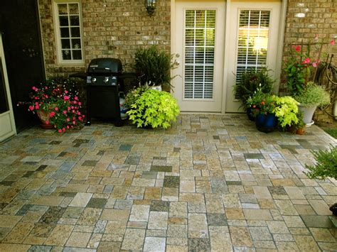 greenstone recycled stone products are granite pavers the best material choice for your patio
