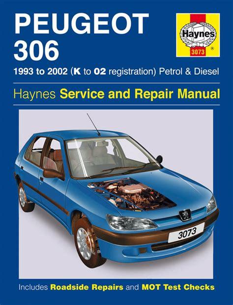 Haynes Workshop Repair Manual Peugeot 306 93 02 Ebay