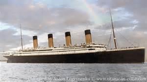 titanic color titanic in color titanic in color titanic