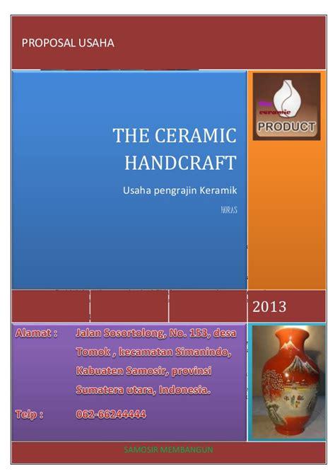 contoh bio yang unik proposal keramik olehhotboyma