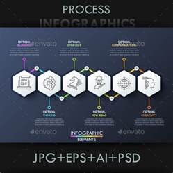 process template modern infographic process template by andrew kras