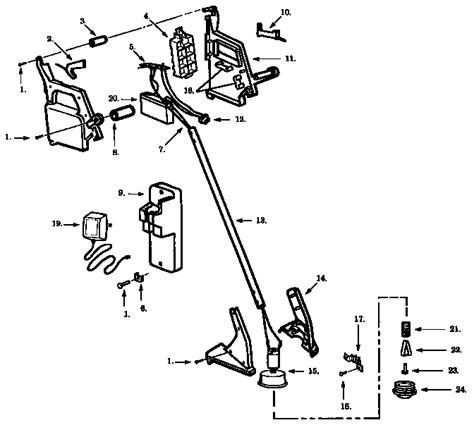 craftsman 32cc wacker parts diagram craftsman cordless weedwacker parts model 358783520