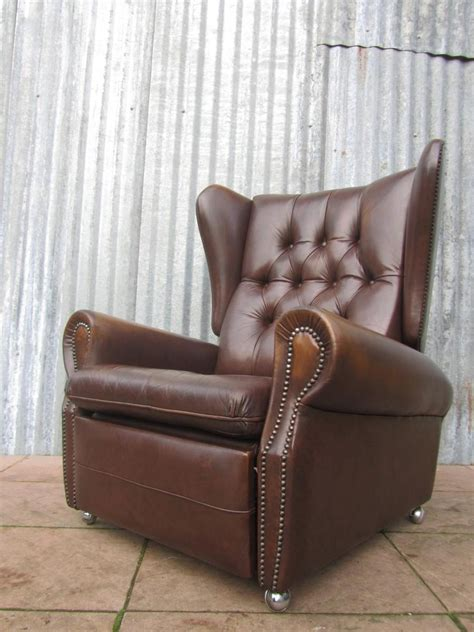 vintage reclining chair vintage recliner armchair chairs seating