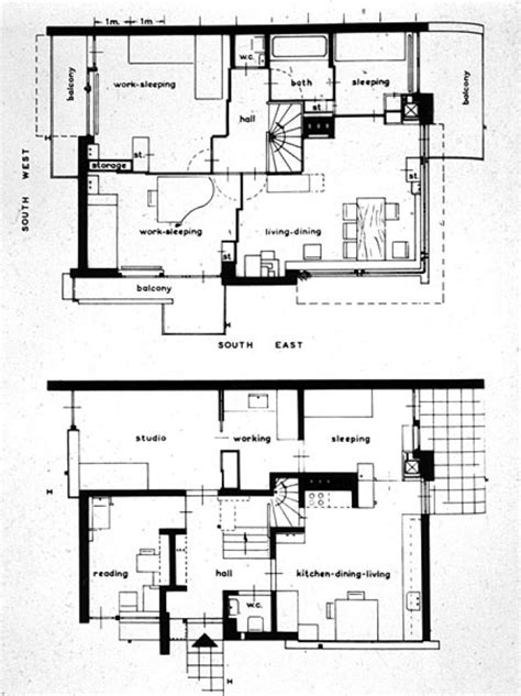 schroder house floor plan early modernism in europe at university of miami studyblue