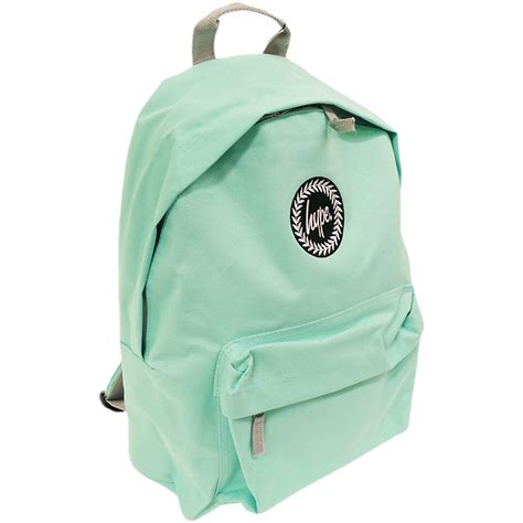 Plain Backpack just hype backpack plain mint bag ebay