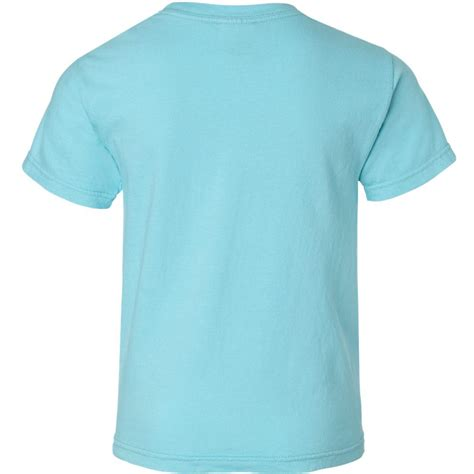 comfort colors lagoon blue comfort colors 9018 youth garment dyed ringspun t shirt