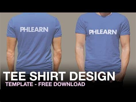 t shirt design you tube phlearn tee shirt design template youtube
