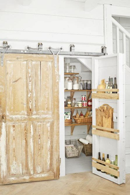 smart pantry door ideas types  pantry doors