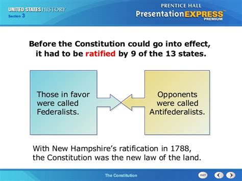 which section of the constitution begins with we the people us history ch 1 section 3 notes
