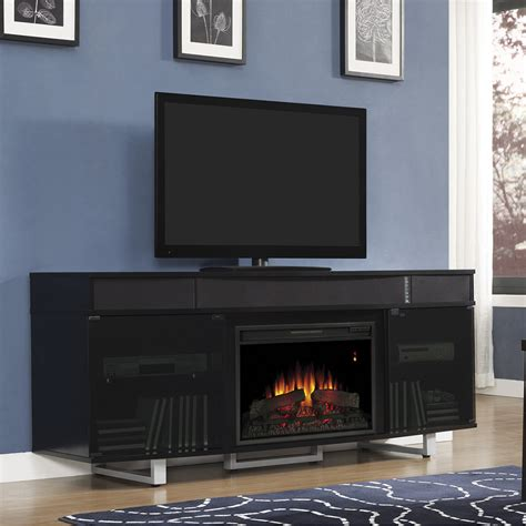 black electric fireplace entertainment center enterprise electric fireplace entertainment center in