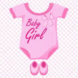 Baby girl items clipart clipartsgram com