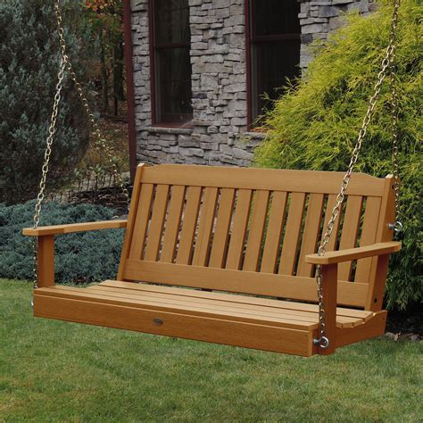 4ft porch swing lehigh porch swing 4ft highwood dfohome