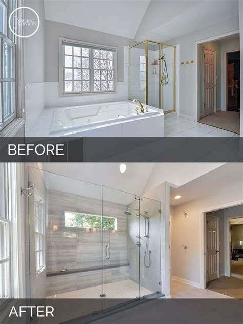 before and after master bathroom remodels bathroom before after master bathrooms and before after