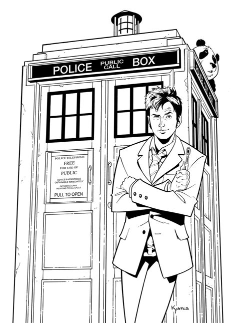 Doctor Who Tardis Fun Crafts Pinterest Tardis Adult Tardis Coloring Page