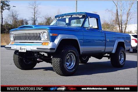 1988 jeep comanche white jeep comanche for sale carsforsale com
