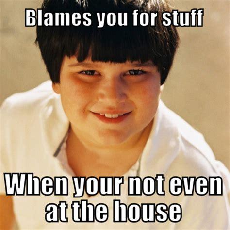 Annoying Childhood Friend Meme - blame annoying childhood friend know your meme