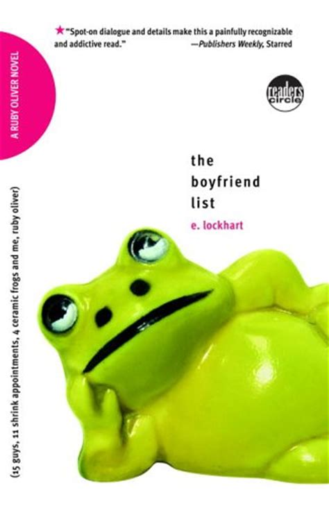 Book Review The Boy Book By E Lockhart by Book Review The Boyfriend List By E Lockhart The Book