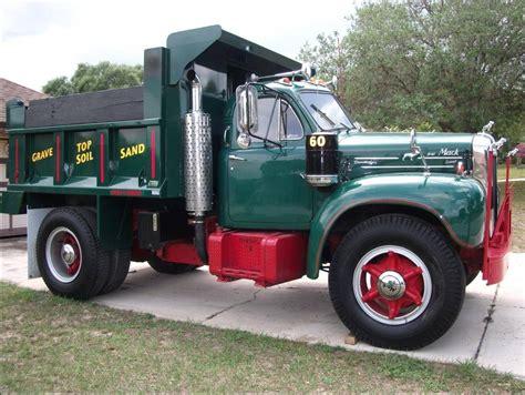mack trucks for in for a classy cheap 1960 mack b61 dump truck