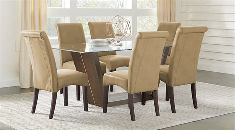 ambassador dining room ambassador place espresso 5 pc rectangle dining room with