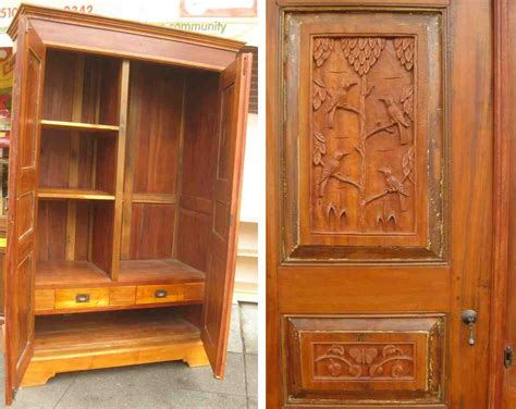 teak armoire teak armoire home furniture design