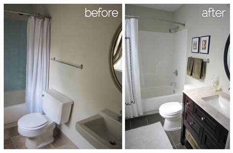 bathrooms before and after bathroom remodel another big bite